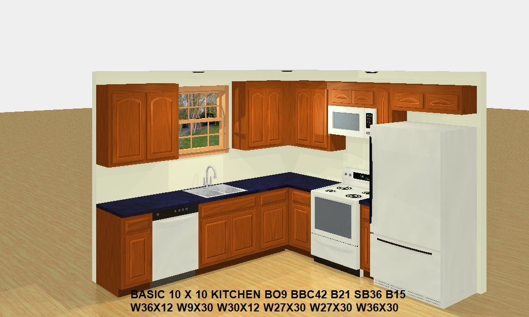 Basic 10 x 10 kitchen for only 1400 dream granite cabinets for 10 x 10 kitchen cabinets